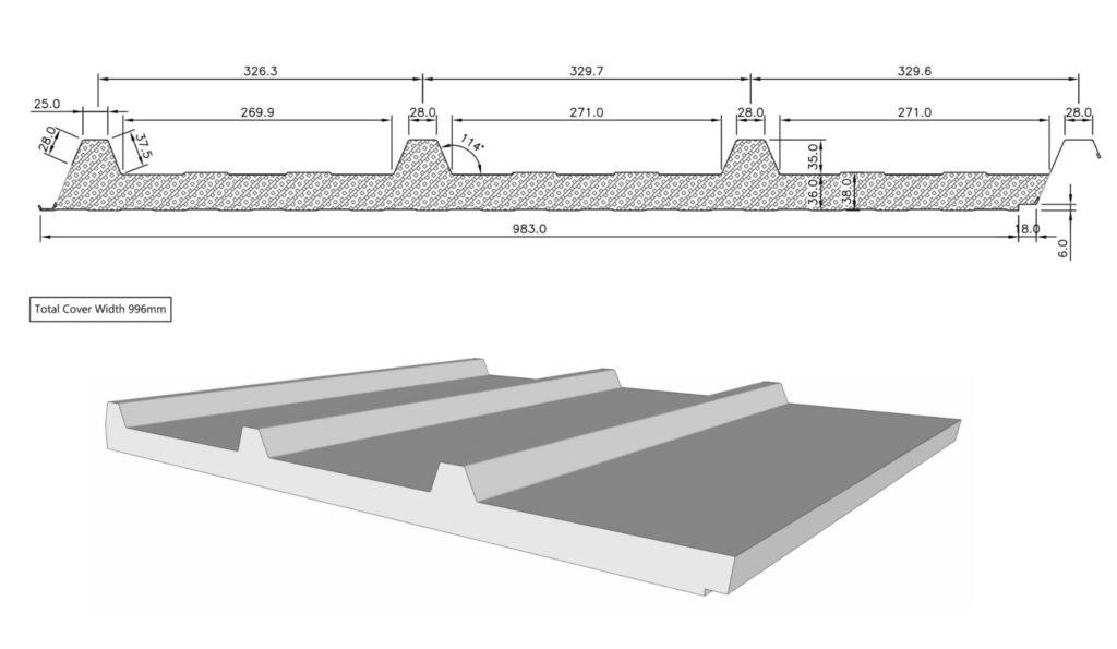 Insulated Panels Irish Rollforming