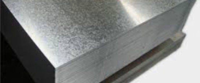 galvanised steel flat sheets